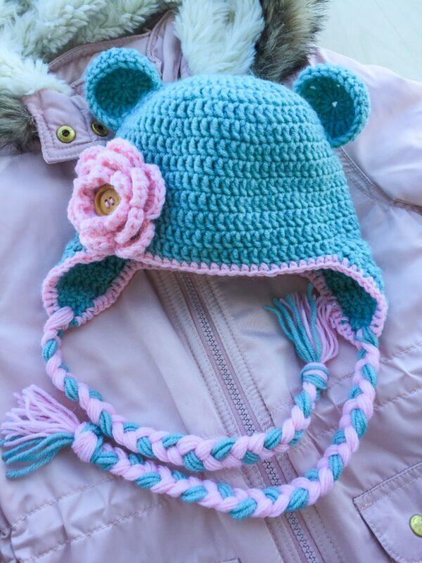 Bear Cute Crochet Hat