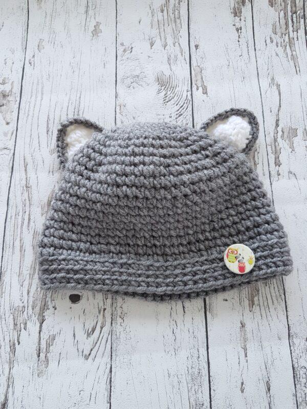 Gray Cat Hat