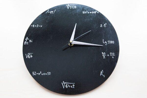 Math Painted Clock