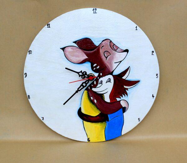 Friendship Painted Clock