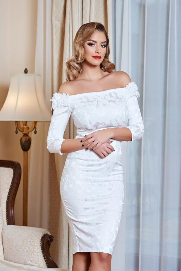 Royal Note White Dress