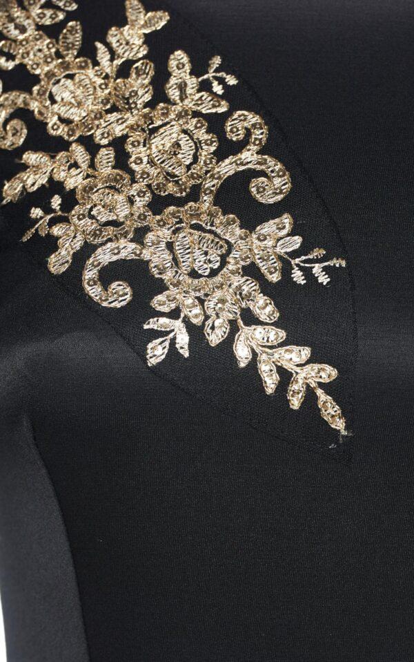 Theo Rose Powerful Black Dress