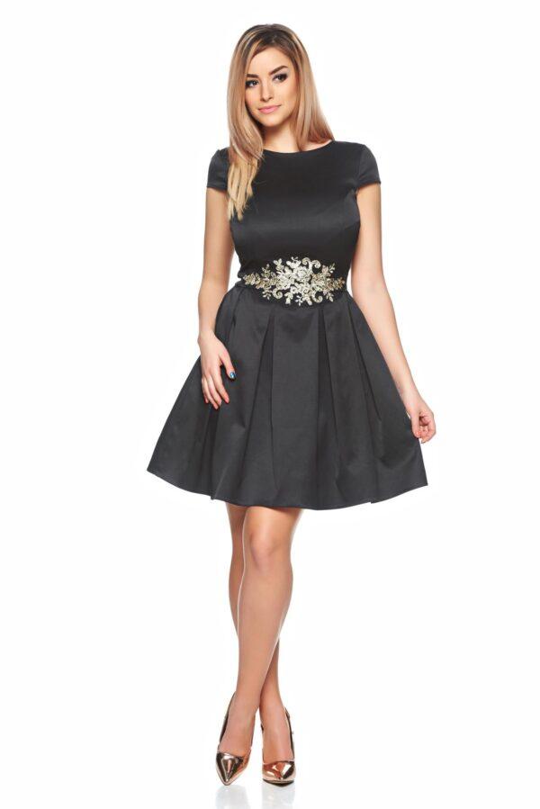 Theo Rose Mirage Black Dress