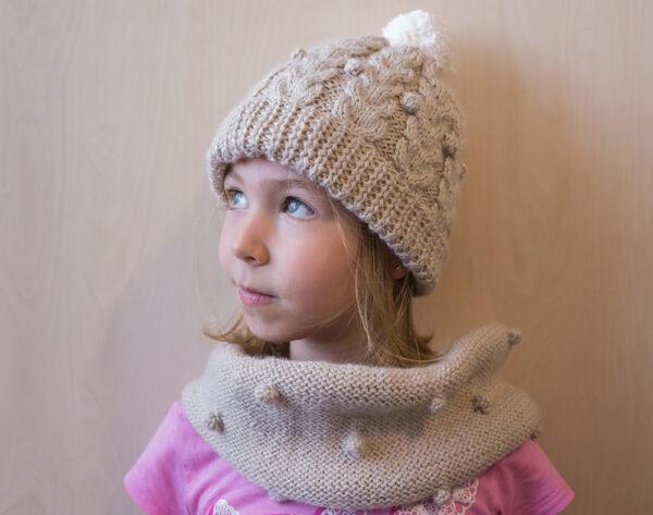 Knitted Beige Warmer