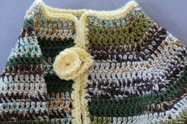 Yellow Touch Cardigan