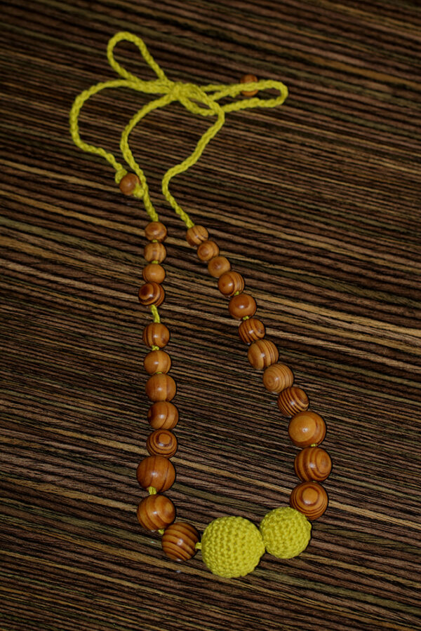 Nursing Necklace Green