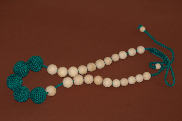 Nursing Necklace Dark Green