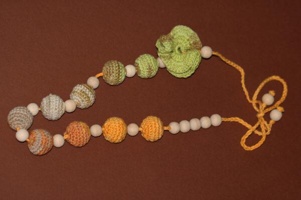 Nursing Necklace Flower