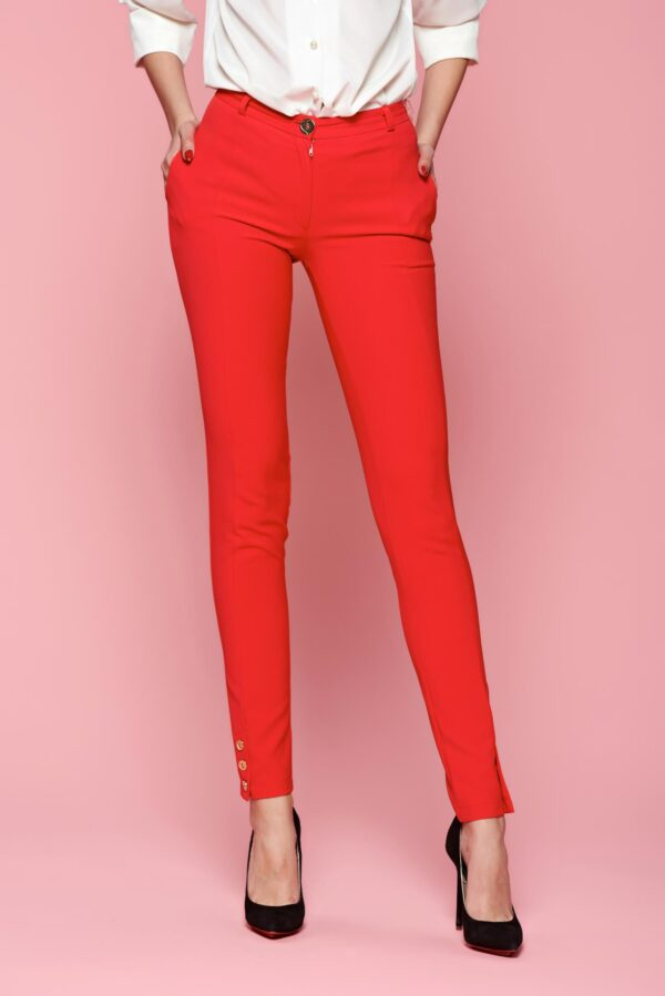Classic Style Red Trousers