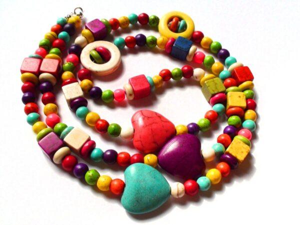 Coloured Howlite Necklace / Bracelet