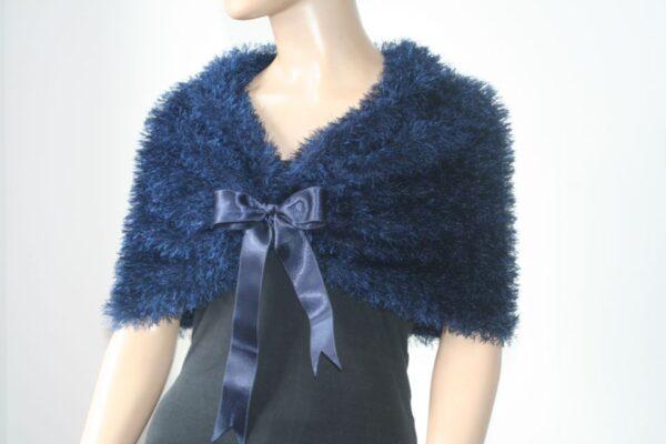 Elegant Blue Bolero