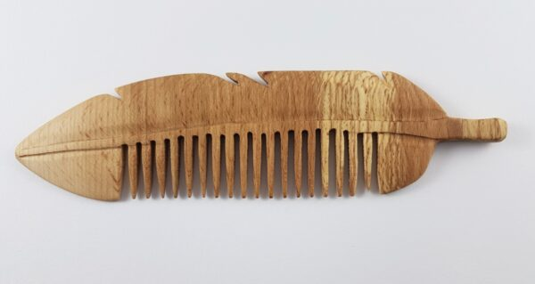 Handmade Natural Feather Comb